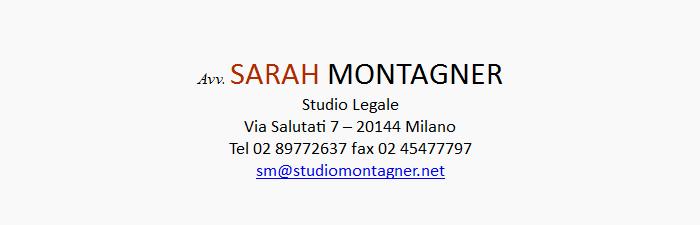 Studio Legale Sarah Montagner